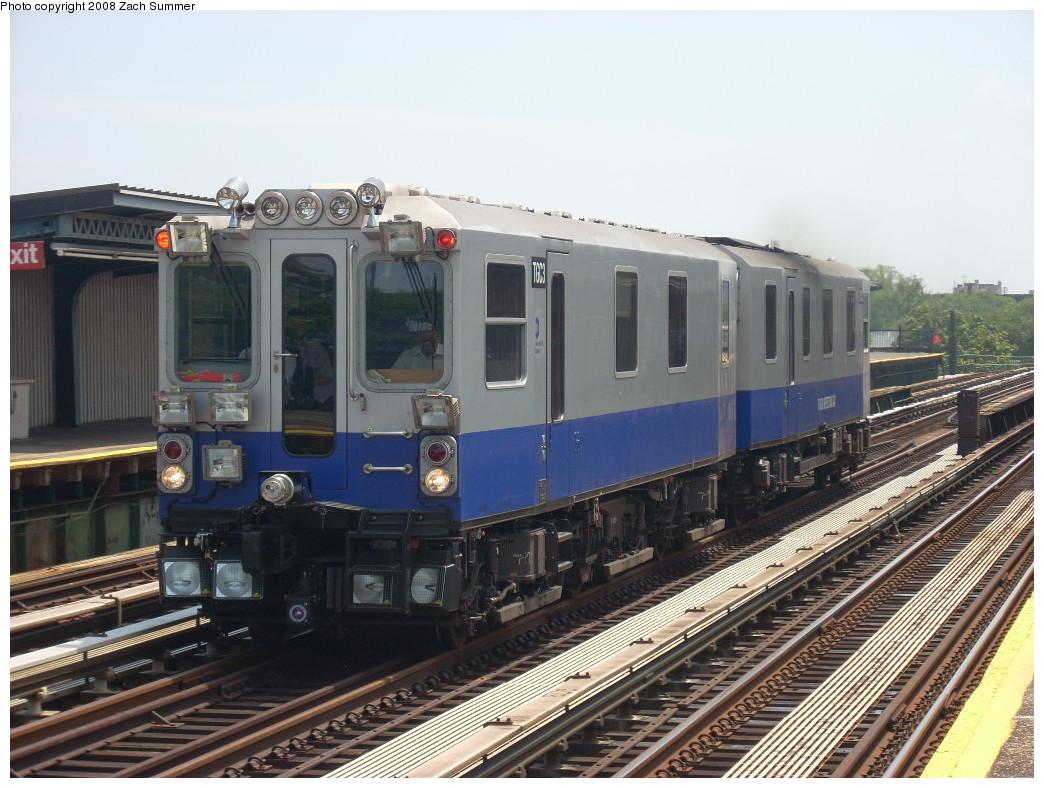 (259k, 1044x788)<br><b>Country:</b> United States<br><b>City:</b> New York<br><b>System:</b> New York City Transit<br><b>Line:</b> BMT Culver Line<br><b>Location:</b> Avenue P <br><b>Route:</b> Work Service<br><b>Car:</b> Track Geometry Car TGC3 <br><b>Photo by:</b> Zach Summer<br><b>Date:</b> 6/30/2008<br><b>Viewed (this week/total):</b> 0 / 2223