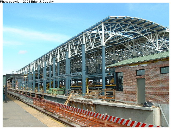 (147k, 660x500)<br><b>Country:</b> United States<br><b>City:</b> New York<br><b>System:</b> New York City Transit<br><b>Location:</b> Coney Island/Stillwell Avenue<br><b>Photo by:</b> Brian J. Cudahy<br><b>Date:</b> 3/10/2004<br><b>Notes:</b> Stillwell during re-construction.<br><b>Viewed (this week/total):</b> 0 / 1237