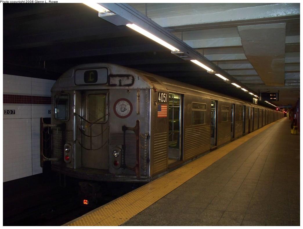 (172k, 1044x788)<br><b>Country:</b> United States<br><b>City:</b> New York<br><b>System:</b> New York City Transit<br><b>Line:</b> IND 8th Avenue Line<br><b>Location:</b> 207th Street <br><b>Route:</b> C reroute<br><b>Car:</b> R-38 (St. Louis, 1966-1967)  4051 <br><b>Photo by:</b> Glenn L. Rowe<br><b>Date:</b> 7/8/2008<br><b>Viewed (this week/total):</b> 1 / 1240