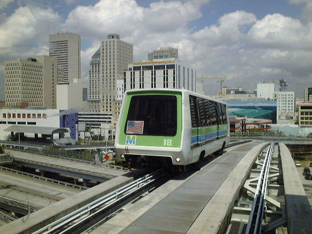 (84k, 640x480)<br><b>Country:</b> United States<br><b>City:</b> Miami, FL<br><b>System:</b> Miami Metromover<br><b>Location:</b> Riverwalk <br><b>Car:</b>  18 <br><b>Photo by:</b> Brian J. Cudahy<br><b>Date:</b> 2003<br><b>Viewed (this week/total):</b> 4 / 1452