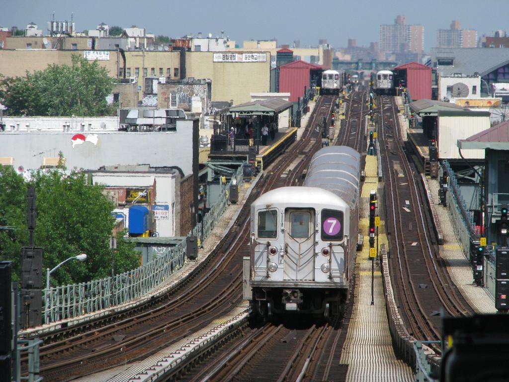 (294k, 1024x768)<br><b>Country:</b> United States<br><b>City:</b> New York<br><b>System:</b> New York City Transit<br><b>Line:</b> IRT Flushing Line<br><b>Location:</b> 61st Street/Woodside <br><b>Route:</b> 7<br><b>Car:</b> R-62A (Bombardier, 1984-1987)  1755 <br><b>Photo by:</b> Andrew Johnson<br><b>Date:</b> 6/30/2008<br><b>Viewed (this week/total):</b> 0 / 1622