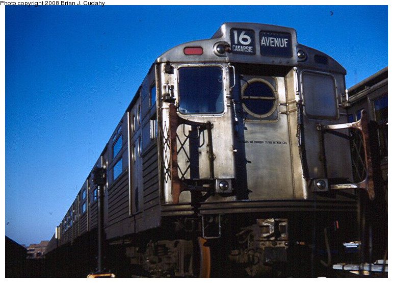 (156k, 771x555)<br><b>Country:</b> United States<br><b>City:</b> New York<br><b>System:</b> New York City Transit<br><b>Location:</b> Coney Island Yard<br><b>Car:</b> R-11 (Budd, 1949)  <br><b>Photo by:</b> Brian J. Cudahy<br><b>Date:</b> 1958<br><b>Viewed (this week/total):</b> 0 / 2271