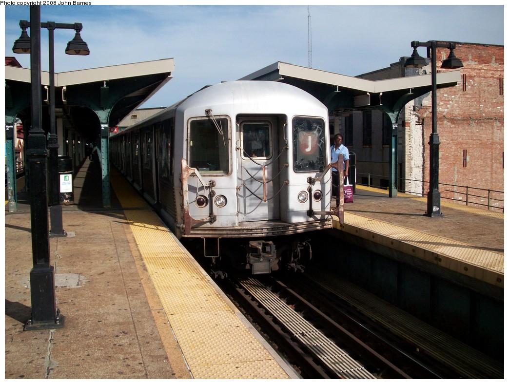(239k, 1044x788)<br><b>Country:</b> United States<br><b>City:</b> New York<br><b>System:</b> New York City Transit<br><b>Line:</b> BMT Nassau Street/Jamaica Line<br><b>Location:</b> Myrtle Avenue <br><b>Route:</b> J<br><b>Car:</b> R-42 (St. Louis, 1969-1970)  4779 <br><b>Photo by:</b> John Barnes<br><b>Date:</b> 7/10/2008<br><b>Viewed (this week/total):</b> 0 / 1188