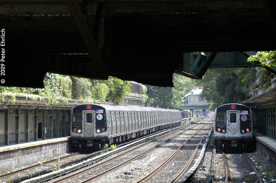 (231k, 930x618)<br><b>Country:</b> United States<br><b>City:</b> New York<br><b>System:</b> New York City Transit<br><b>Line:</b> BMT Brighton Line<br><b>Location:</b> Beverley Road <br><b>Route:</b> Q<br><b>Car:</b> R-160B (Kawasaki, 2005-2008)  8743 <br><b>Photo by:</b> Peter Ehrlich<br><b>Date:</b> 7/22/2009<br><b>Notes:</b> Inbound<br><b>Viewed (this week/total):</b> 0 / 1243