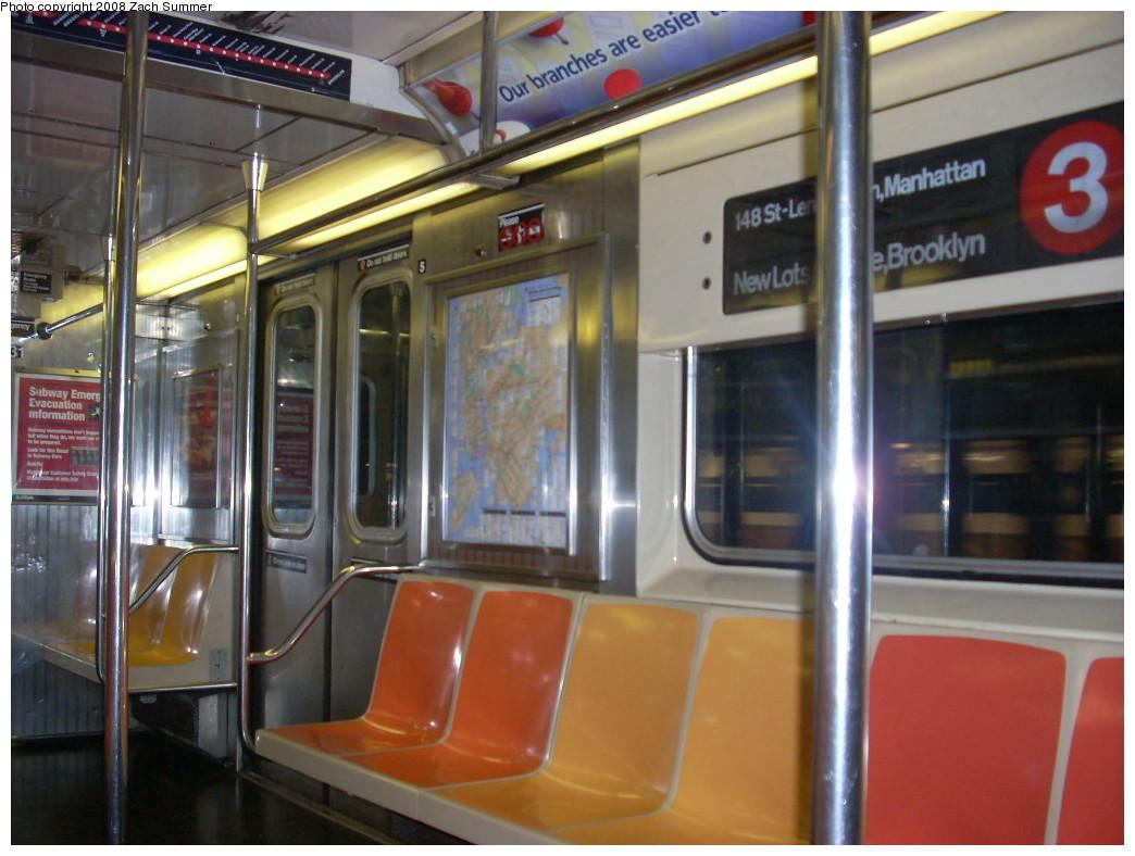 (230k, 1044x788)<br><b>Country:</b> United States<br><b>City:</b> New York<br><b>System:</b> New York City Transit<br><b>Route:</b> 3<br><b>Car:</b> R-62 (Kawasaki, 1983-1985)  1331 <br><b>Photo by:</b> Zach Summer<br><b>Date:</b> 7/2/2008<br><b>Viewed (this week/total):</b> 4 / 1730