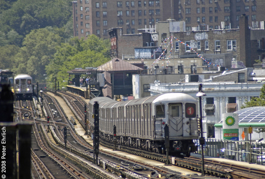 (244k, 864x584)<br><b>Country:</b> United States<br><b>City:</b> New York<br><b>System:</b> New York City Transit<br><b>Line:</b> IRT West Side Line<br><b>Location:</b> 207th Street <br><b>Car:</b> R-62A (Bombardier, 1984-1987)  2260 <br><b>Photo by:</b> Peter Ehrlich<br><b>Date:</b> 7/15/2008<br><b>Viewed (this week/total):</b> 1 / 2092