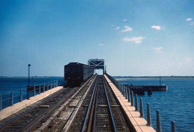 (159k, 741x504)<br><b>Country:</b> United States<br><b>City:</b> New York<br><b>System:</b> New York City Transit<br><b>Line:</b> IND Rockaway<br><b>Location:</b> North Channel Bridge <br><b>Route:</b> A<br><b>Car:</b> R-10 (American Car & Foundry, 1948)  <br><b>Photo by:</b> Brian J. Cudahy<br><b>Viewed (this week/total):</b> 4 / 2333