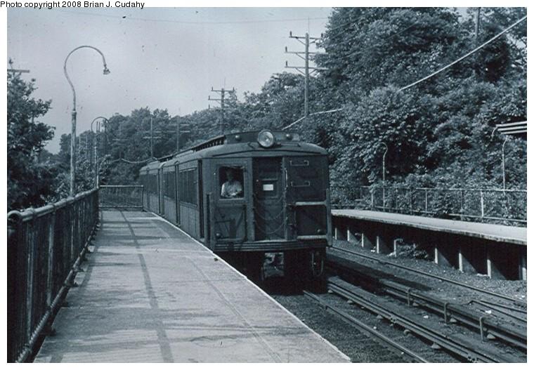 (147k, 760x527)<br><b>Country:</b> United States<br><b>City:</b> New York<br><b>System:</b> New York City Transit<br><b>Line:</b> SIRT<br><b>Location:</b> Prince's Bay <br><b>Car:</b> SIRT  <br><b>Photo by:</b> Brian J. Cudahy<br><b>Date:</b> 1971<br><b>Viewed (this week/total):</b> 0 / 1590