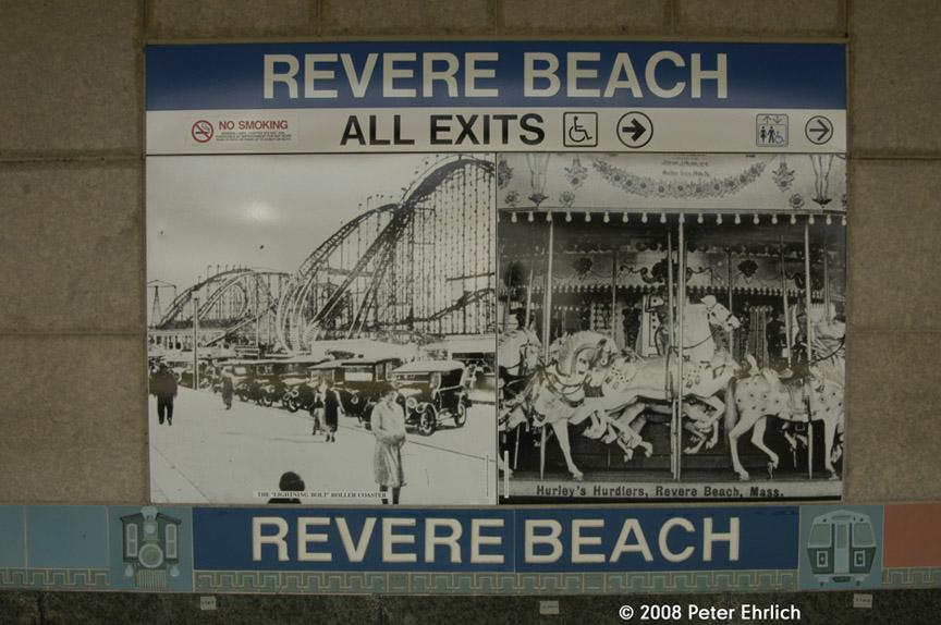 (174k, 864x574)<br><b>Country:</b> United States<br><b>City:</b> Boston, MA<br><b>System:</b> MBTA<br><b>Line:</b> MBTA Blue Line<br><b>Location:</b> Revere Beach <br><b>Photo by:</b> Peter Ehrlich<br><b>Date:</b> 7/17/2008<br><b>Notes:</b> Artwork.<br><b>Viewed (this week/total):</b> 0 / 833