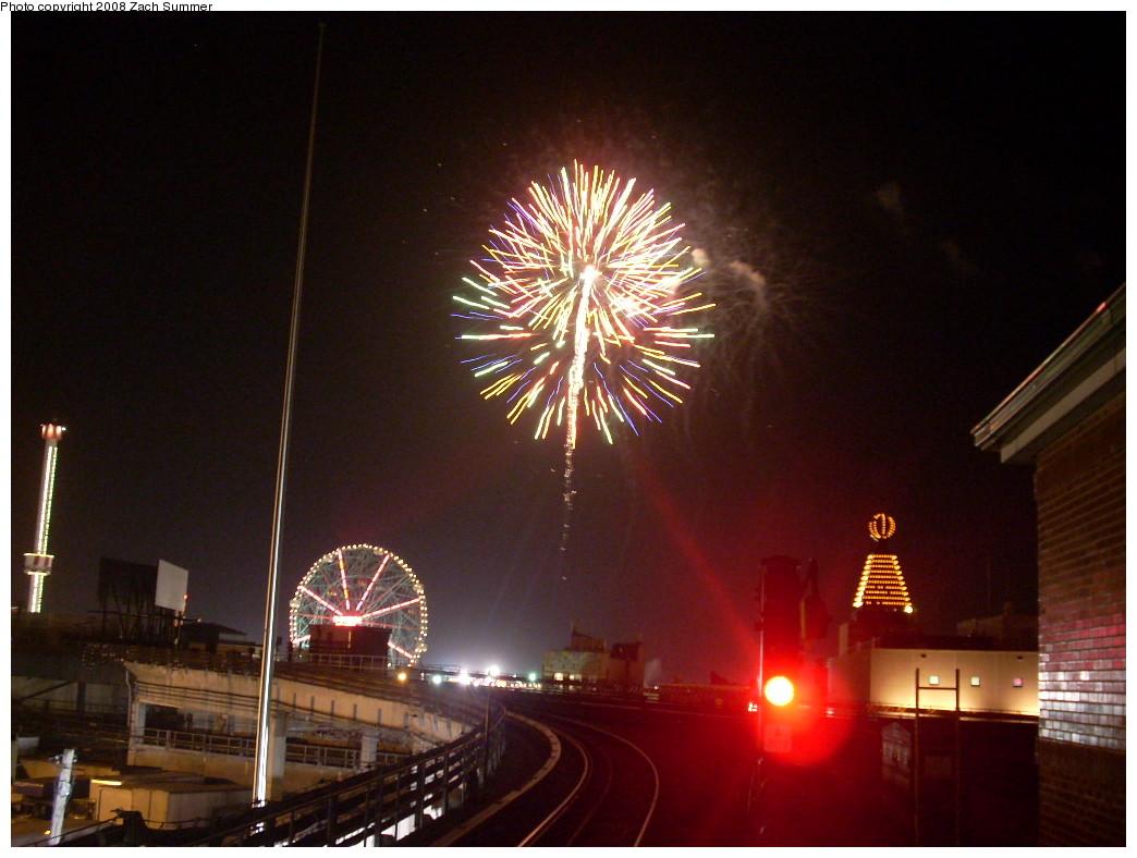 (225k, 1044x788)<br><b>Country:</b> United States<br><b>City:</b> New York<br><b>System:</b> New York City Transit<br><b>Location:</b> Coney Island/Stillwell Avenue<br><b>Photo by:</b> Zach Summer<br><b>Date:</b> 7/3/2008<br><b>Viewed (this week/total):</b> 0 / 1728