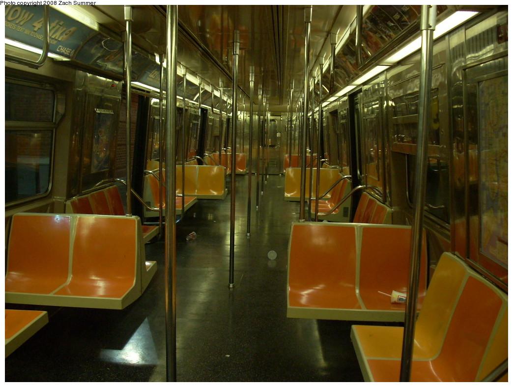 (249k, 1044x788)<br><b>Country:</b> United States<br><b>City:</b> New York<br><b>System:</b> New York City Transit<br><b>Route:</b> Q<br><b>Car:</b> R-68A (Kawasaki, 1988-1989)  5047 <br><b>Photo by:</b> Zach Summer<br><b>Date:</b> 7/3/2008<br><b>Viewed (this week/total):</b> 1 / 1501