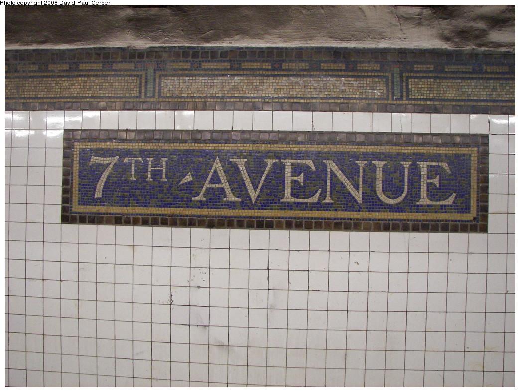 (296k, 1044x788)<br><b>Country:</b> United States<br><b>City:</b> New York<br><b>System:</b> New York City Transit<br><b>Line:</b> BMT Brighton Line<br><b>Location:</b> 7th Avenue <br><b>Photo by:</b> David-Paul Gerber<br><b>Date:</b> 5/20/2008<br><b>Viewed (this week/total):</b> 0 / 1572