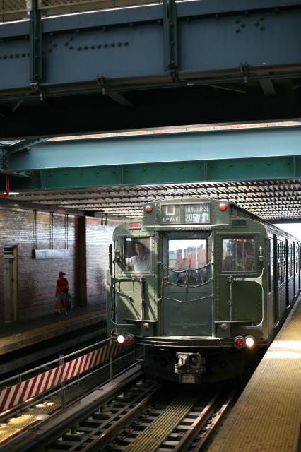 (98k, 426x640)<br><b>Country:</b> United States<br><b>City:</b> New York<br><b>System:</b> New York City Transit<br><b>Location:</b> Coney Island/Stillwell Avenue<br><b>Route:</b> Transit Museum Nostalgia Train<br><b>Car:</b> R-4 (American Car & Foundry, 1932-1933) 484 <br><b>Photo by:</b> Kieran J. O'Hagan<br><b>Date:</b> 7/13/2008<br><b>Viewed (this week/total):</b> 4 / 1580