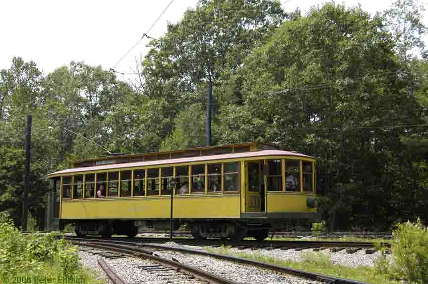 (90k, 864x574)<br><b>Country:</b> United States<br><b>City:</b> Kennebunk, ME<br><b>System:</b> Seashore Trolley Museum <br><b>Car:</b> Twin City Rapid Transit 1267 <br><b>Photo by:</b> Peter Ehrlich<br><b>Date:</b> 7/18/2008<br><b>Notes:</b> Twin City Rapid Transit 1267.  At Talbot Park.<br><b>Viewed (this week/total):</b> 0 / 720