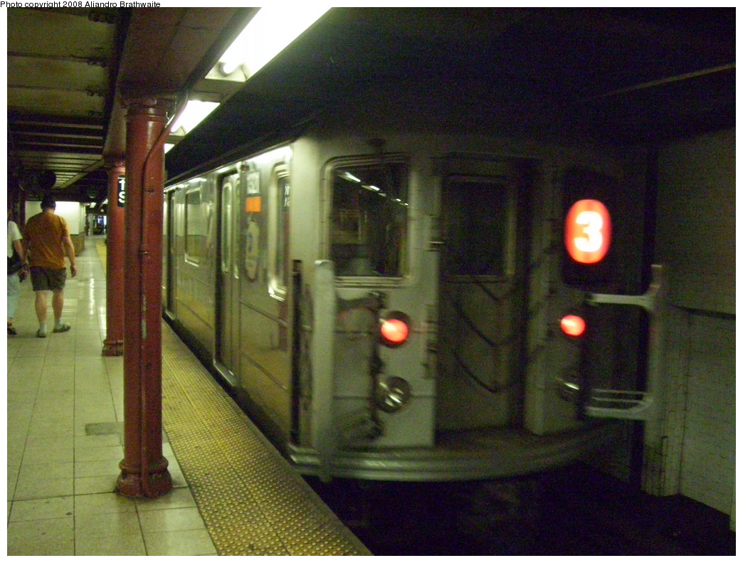 (258k, 1044x791)<br><b>Country:</b> United States<br><b>City:</b> New York<br><b>System:</b> New York City Transit<br><b>Line:</b> IRT Lenox Line<br><b>Location:</b> 110th Street/Central Park North <br><b>Route:</b> 3<br><b>Car:</b> R-62 (Kawasaki, 1983-1985)  1321 <br><b>Photo by:</b> Aliandro Brathwaite<br><b>Date:</b> 7/25/2008<br><b>Viewed (this week/total):</b> 2 / 2564