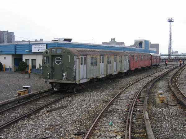 (44k, 600x450)<br><b>Country:</b> United States<br><b>City:</b> New York<br><b>System:</b> New York City Transit<br><b>Location:</b> Coney Island Yard<br><b>Car:</b> R-16 (American Car & Foundry, 1955) 6305 <br><b>Photo by:</b> Professor J<br><b>Date:</b> 4/12/2008<br><b>Viewed (this week/total):</b> 3 / 1993