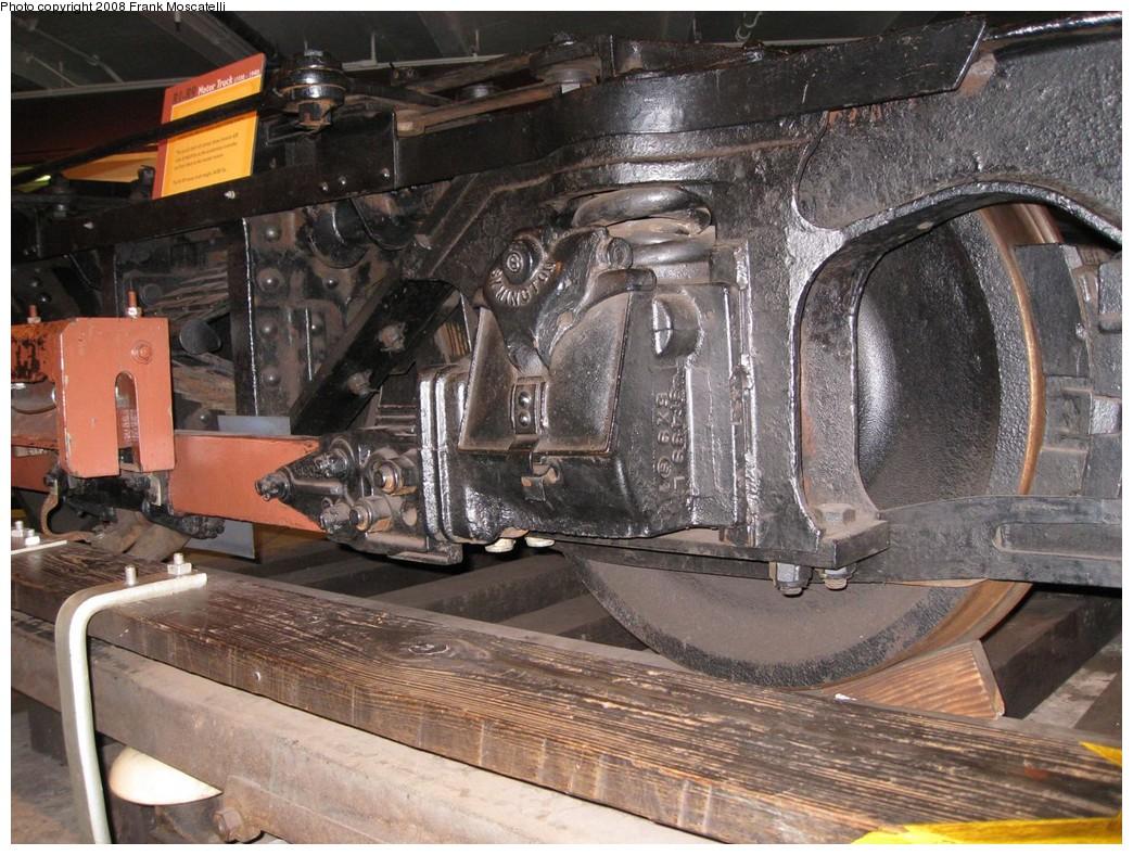 (260k, 1044x788)<br><b>Country:</b> United States<br><b>City:</b> New York<br><b>System:</b> New York City Transit<br><b>Location:</b> New York Transit Museum<br><b>Photo by:</b> Frank Moscatelli<br><b>Date:</b> 10/24/2007<br><b>Notes:</b> R1/9 truck display.<br><b>Viewed (this week/total):</b> 0 / 1866