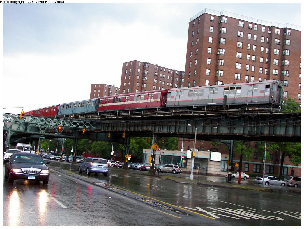(323k, 1044x788)<br><b>Country:</b> United States<br><b>City:</b> New York<br><b>System:</b> New York City Transit<br><b>Line:</b> IRT West Side Line<br><b>Location:</b> Dyckman Street <br><b>Route:</b> Transit Museum Nostalgia Train<br><b>Car:</b> R-12 (American Car & Foundry, 1948) 5760 <br><b>Photo by:</b> David-Paul Gerber<br><b>Date:</b> 8/2/2008<br><b>Viewed (this week/total):</b> 0 / 4225
