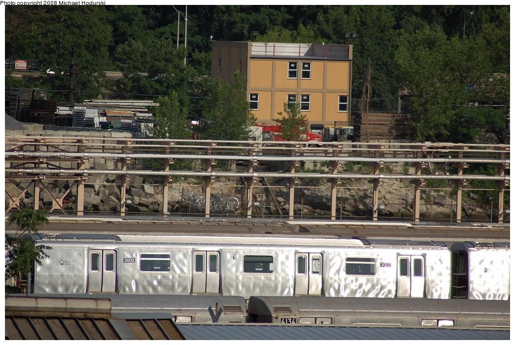 (278k, 1044x699)<br><b>Country:</b> United States<br><b>City:</b> New York<br><b>System:</b> New York City Transit<br><b>Location:</b> 207th Street Yard<br><b>Car:</b> R-110B (Bombardier, 1992) 3002 <br><b>Photo by:</b> Michael Hodurski<br><b>Date:</b> 6/24/2008<br><b>Viewed (this week/total):</b> 2 / 2168