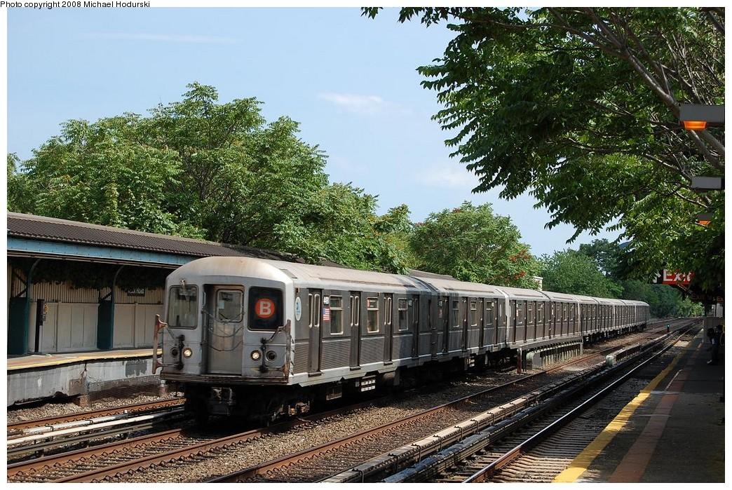 (332k, 1044x699)<br><b>Country:</b> United States<br><b>City:</b> New York<br><b>System:</b> New York City Transit<br><b>Line:</b> BMT Brighton Line<br><b>Location:</b> Neck Road <br><b>Route:</b> B<br><b>Car:</b> R-40M (St. Louis, 1969)  4491 <br><b>Photo by:</b> Michael Hodurski<br><b>Date:</b> 6/24/2008<br><b>Viewed (this week/total):</b> 0 / 1393