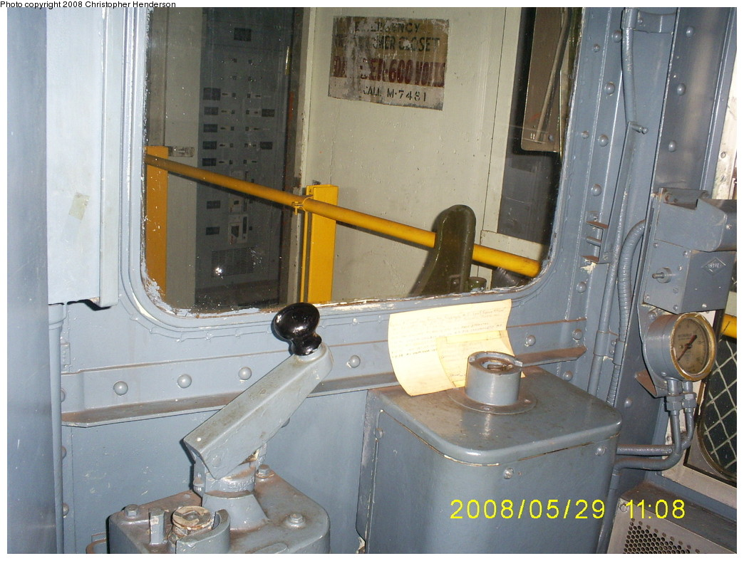 (263k, 1044x788)<br><b>Country:</b> United States<br><b>City:</b> New York<br><b>System:</b> New York City Transit<br><b>Location:</b> New York Transit Museum<br><b>Car:</b> R-30 (St. Louis, 1961) 8506 <br><b>Photo by:</b> Christopher Henderson<br><b>Date:</b> 5/29/2008<br><b>Notes:</b> Motorman's cab.<br><b>Viewed (this week/total):</b> 1 / 3401