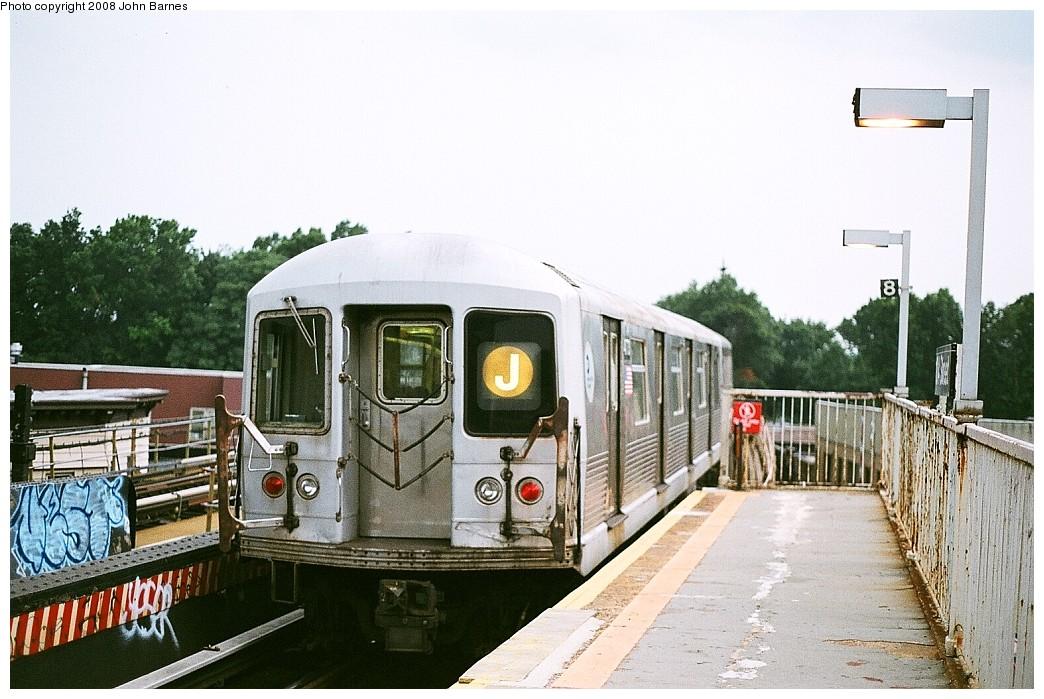 (222k, 1044x699)<br><b>Country:</b> United States<br><b>City:</b> New York<br><b>System:</b> New York City Transit<br><b>Line:</b> BMT Nassau Street/Jamaica Line<br><b>Location:</b> 102nd-104th Streets <br><b>Route:</b> J<br><b>Car:</b> R-42 (St. Louis, 1969-1970)  4773 <br><b>Photo by:</b> John Barnes<br><b>Date:</b> 7/27/2008<br><b>Viewed (this week/total):</b> 2 / 1790