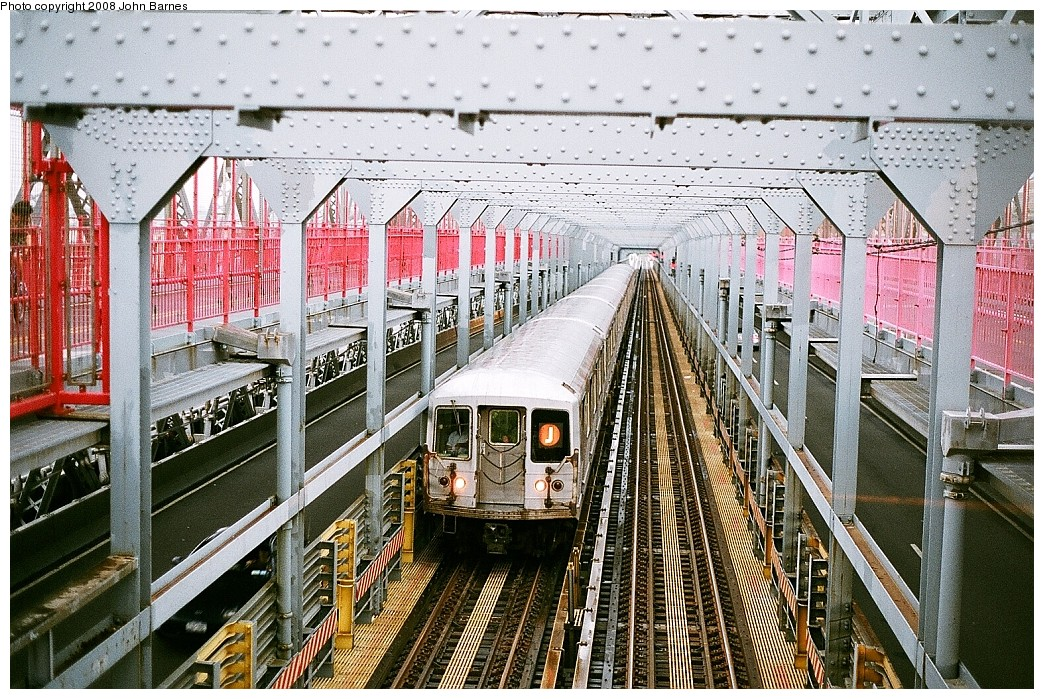 (340k, 1044x699)<br><b>Country:</b> United States<br><b>City:</b> New York<br><b>System:</b> New York City Transit<br><b>Line:</b> BMT Nassau Street/Jamaica Line<br><b>Location:</b> Williamsburg Bridge<br><b>Route:</b> J<br><b>Car:</b> R-42 (St. Louis, 1969-1970)  4716 <br><b>Photo by:</b> John Barnes<br><b>Date:</b> 7/27/2008<br><b>Viewed (this week/total):</b> 1 / 1274