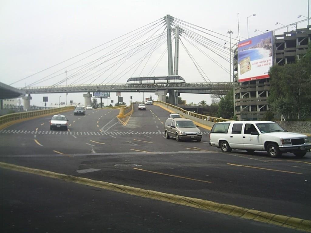 (151k, 1024x768)<br><b>Country:</b> Mexico<br><b>City:</b> Mexico City<br><b>System:</b> Mexico City International Airport People Mover<br><b>Photo by:</b> Jorge Arturo Monzón Abarca<br><b>Date:</b> 1/13/2008<br><b>Notes:</b> New people mover connecting terminals at Mexico City's airport.<br><b>Viewed (this week/total):</b> 0 / 599