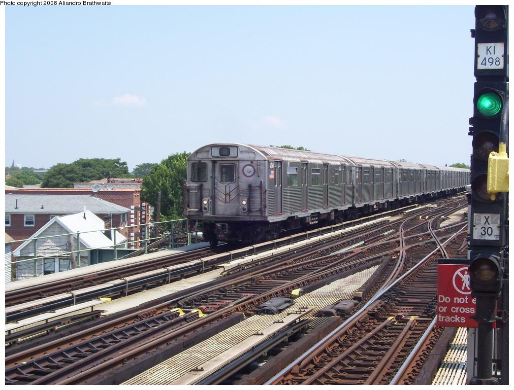 (260k, 1044x791)<br><b>Country:</b> United States<br><b>City:</b> New York<br><b>System:</b> New York City Transit<br><b>Line:</b> IND Fulton Street Line<br><b>Location:</b> 80th Street/Hudson Street <br><b>Route:</b> A<br><b>Car:</b> R-38 (St. Louis, 1966-1967)  4041 <br><b>Photo by:</b> Aliandro Brathwaite<br><b>Date:</b> 7/26/2008<br><b>Viewed (this week/total):</b> 2 / 1500