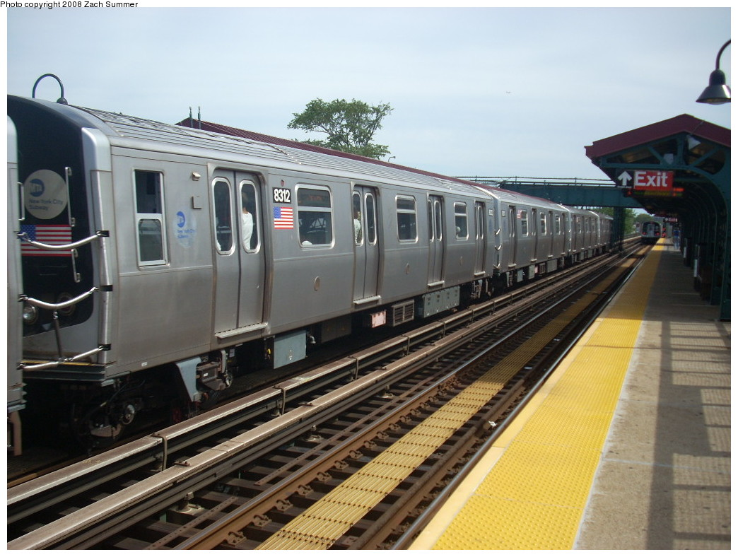 (249k, 1044x788)<br><b>Country:</b> United States<br><b>City:</b> New York<br><b>System:</b> New York City Transit<br><b>Line:</b> BMT Canarsie Line<br><b>Location:</b> Livonia Avenue <br><b>Route:</b> L<br><b>Car:</b> R-143 (Kawasaki, 2001-2002) 8312 <br><b>Photo by:</b> Zach Summer<br><b>Date:</b> 7/10/2008<br><b>Viewed (this week/total):</b> 1 / 1361