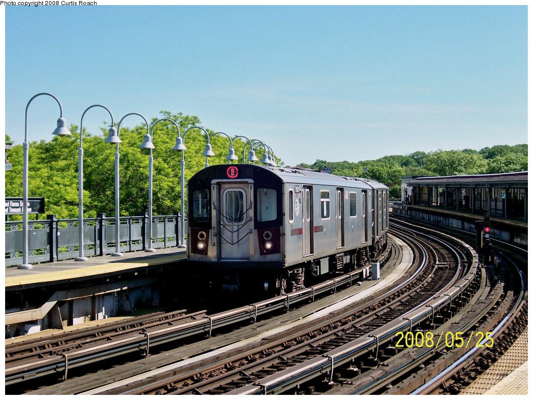 (347k, 1044x783)<br><b>Country:</b> United States<br><b>City:</b> New York<br><b>System:</b> New York City Transit<br><b>Line:</b> IRT White Plains Road Line<br><b>Location:</b> West Farms Sq./East Tremont Ave./177th St. <br><b>Route:</b> 5<br><b>Car:</b> R-142 (Option Order, Bombardier, 2002-2003)  7001 <br><b>Photo by:</b> Curtis Roach<br><b>Date:</b> 5/25/2008<br><b>Viewed (this week/total):</b> 0 / 2419