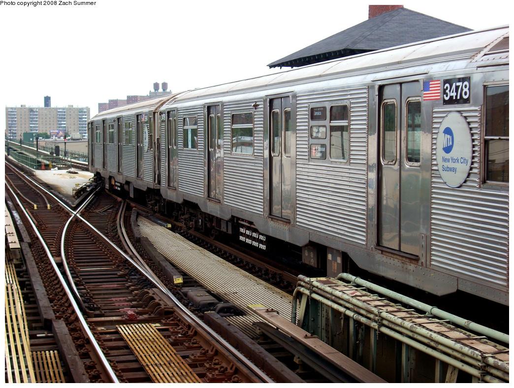 (340k, 1044x788)<br><b>Country:</b> United States<br><b>City:</b> New York<br><b>System:</b> New York City Transit<br><b>Line:</b> BMT Culver Line<br><b>Location:</b> Avenue X <br><b>Route:</b> F put-in<br><b>Car:</b> R-32 (Budd, 1964)  3478 <br><b>Photo by:</b> Zach Summer<br><b>Date:</b> 7/14/2008<br><b>Viewed (this week/total):</b> 0 / 1113