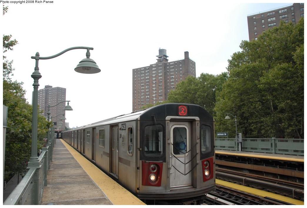 (195k, 1044x706)<br><b>Country:</b> United States<br><b>City:</b> New York<br><b>System:</b> New York City Transit<br><b>Line:</b> IRT White Plains Road Line<br><b>Location:</b> Jackson Avenue <br><b>Route:</b> 2<br><b>Car:</b> R-142 (Primary Order, Bombardier, 1999-2002)  6436 <br><b>Photo by:</b> Richard Panse<br><b>Date:</b> 8/2/2008<br><b>Viewed (this week/total):</b> 0 / 1829
