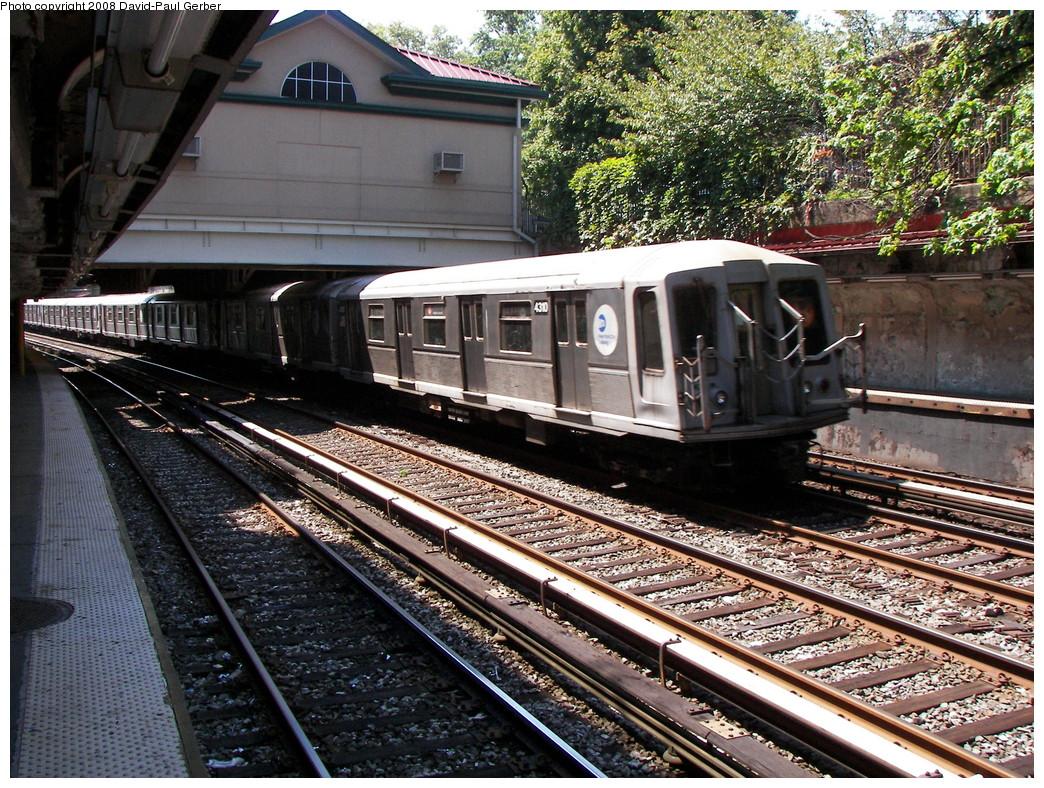 (408k, 1044x788)<br><b>Country:</b> United States<br><b>City:</b> New York<br><b>System:</b> New York City Transit<br><b>Line:</b> BMT Brighton Line<br><b>Location:</b> Beverley Road <br><b>Route:</b> B<br><b>Car:</b> R-40 (St. Louis, 1968)  4310 <br><b>Photo by:</b> David-Paul Gerber<br><b>Date:</b> 8/18/2008<br><b>Viewed (this week/total):</b> 0 / 1422