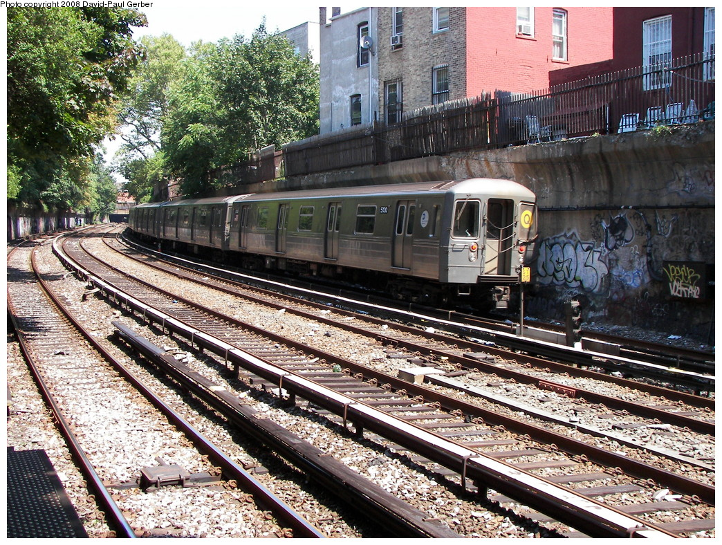 (460k, 1044x788)<br><b>Country:</b> United States<br><b>City:</b> New York<br><b>System:</b> New York City Transit<br><b>Line:</b> BMT Brighton Line<br><b>Location:</b> Beverley Road <br><b>Route:</b> Q<br><b>Car:</b> R-68A (Kawasaki, 1988-1989)  5130 <br><b>Photo by:</b> David-Paul Gerber<br><b>Date:</b> 8/18/2008<br><b>Viewed (this week/total):</b> 3 / 1412
