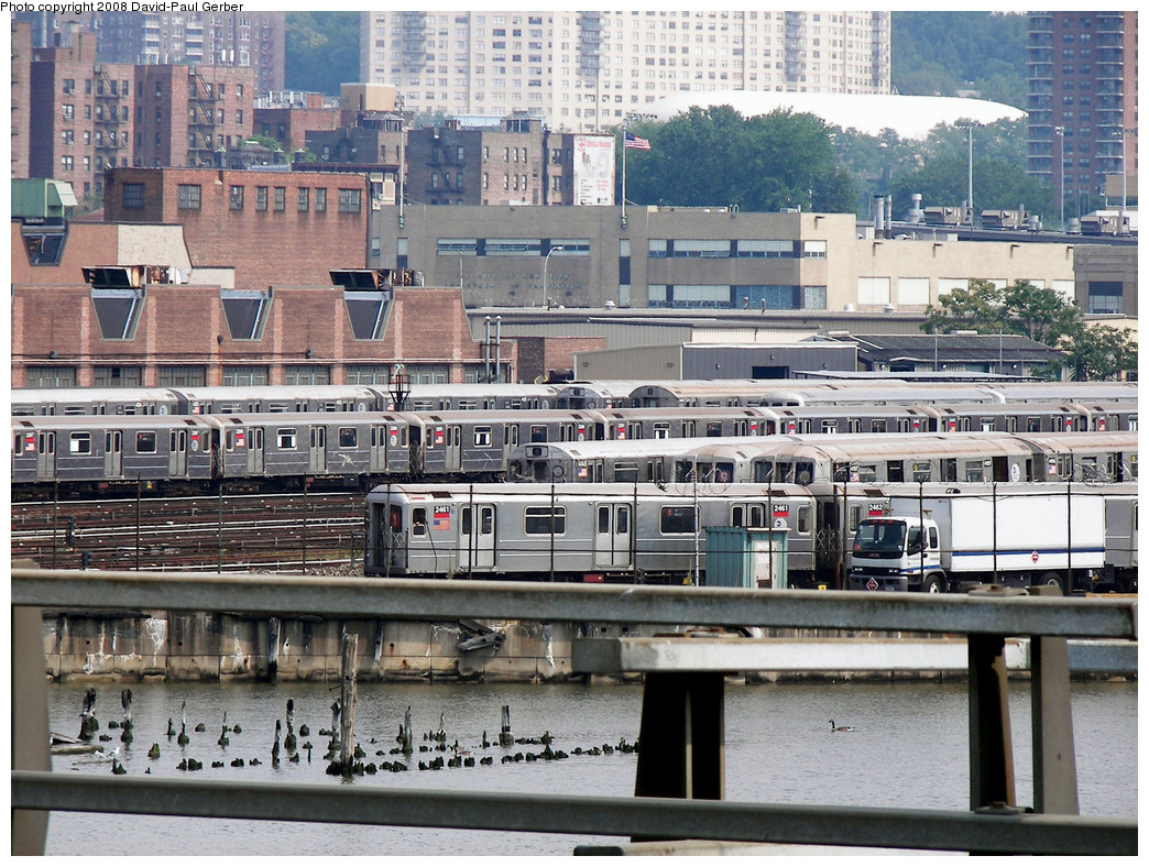 (362k, 1044x788)<br><b>Country:</b> United States<br><b>City:</b> New York<br><b>System:</b> New York City Transit<br><b>Location:</b> 207th Street Yard<br><b>Car:</b> R-62A (Bombardier, 1984-1987)  2461 <br><b>Photo by:</b> David-Paul Gerber<br><b>Date:</b> 7/19/2008<br><b>Viewed (this week/total):</b> 1 / 2333