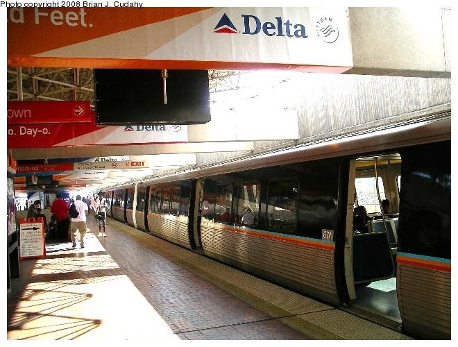 (130k, 660x500)<br><b>Country:</b> United States<br><b>City:</b> Atlanta, GA<br><b>System:</b> MARTA<br><b>Line:</b> North-South Line <br><b>Location:</b> Airport <br><b>Photo by:</b> Brian J. Cudahy<br><b>Date:</b> 3/2006<br><b>Viewed (this week/total):</b> 0 / 1319