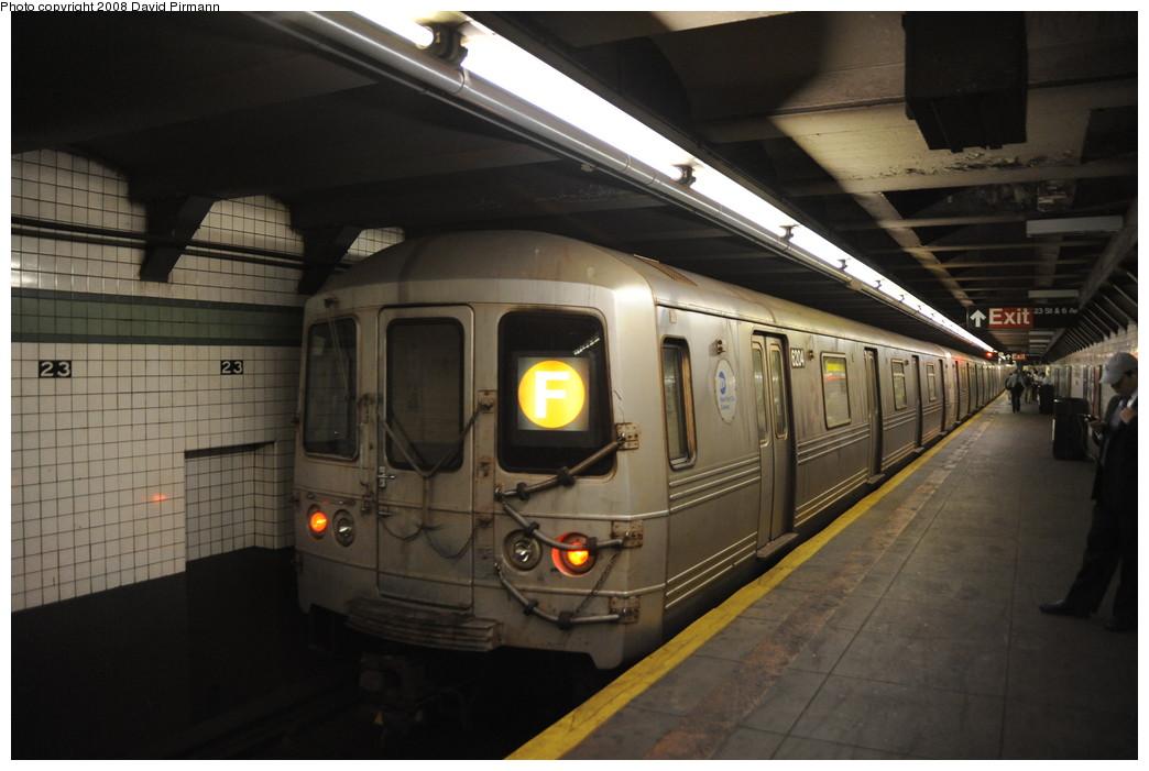 (218k, 1044x701)<br><b>Country:</b> United States<br><b>City:</b> New York<br><b>System:</b> New York City Transit<br><b>Line:</b> IND 6th Avenue Line<br><b>Location:</b> 23rd Street <br><b>Route:</b> F<br><b>Car:</b> R-46 (Pullman-Standard, 1974-75) 6204 <br><b>Photo by:</b> David Pirmann<br><b>Date:</b> 8/21/2008<br><b>Viewed (this week/total):</b> 1 / 1567