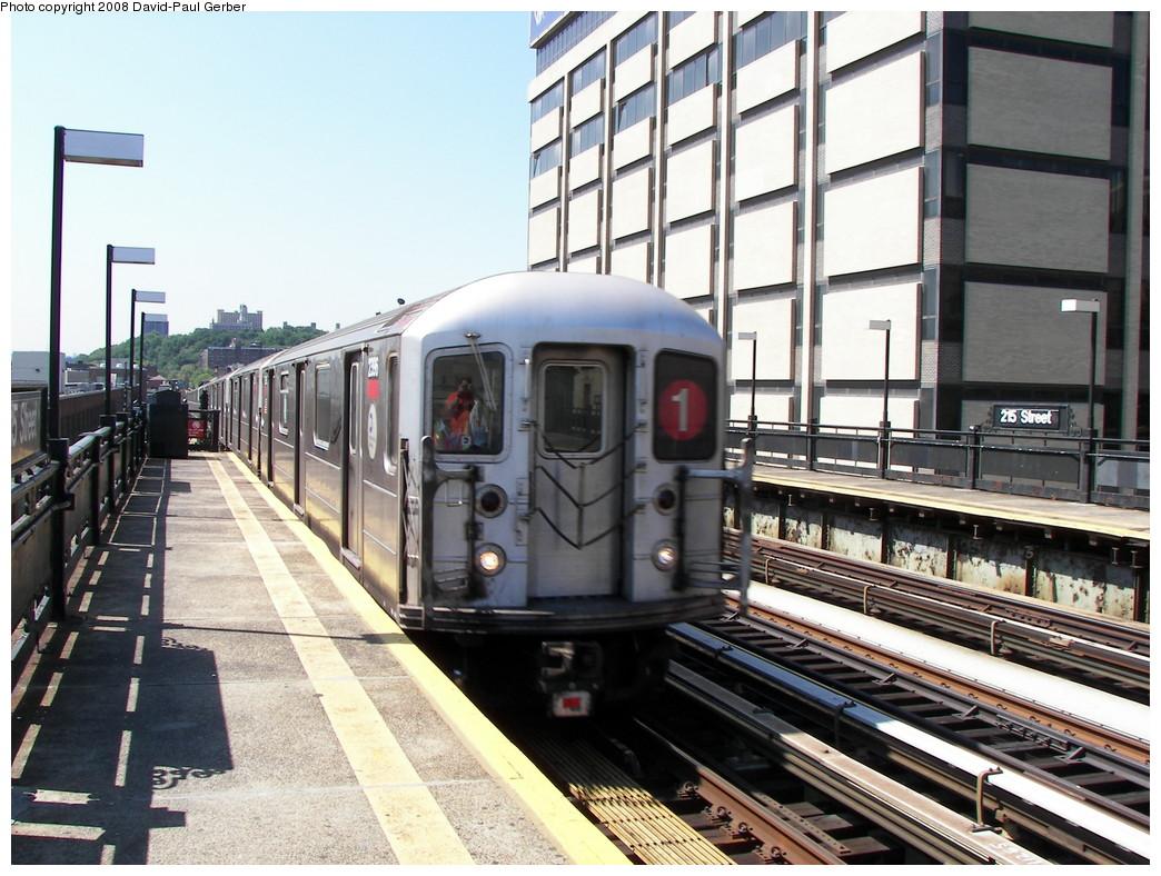 (297k, 1044x788)<br><b>Country:</b> United States<br><b>City:</b> New York<br><b>System:</b> New York City Transit<br><b>Line:</b> IRT West Side Line<br><b>Location:</b> 215th Street <br><b>Route:</b> 1<br><b>Car:</b> R-62A (Bombardier, 1984-1987)  2396 <br><b>Photo by:</b> David-Paul Gerber<br><b>Date:</b> 8/21/2008<br><b>Viewed (this week/total):</b> 2 / 1404