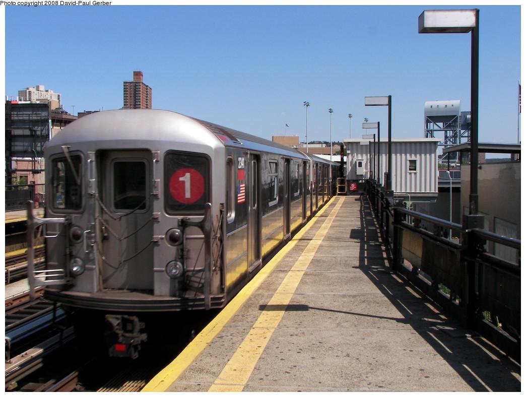 (257k, 1044x788)<br><b>Country:</b> United States<br><b>City:</b> New York<br><b>System:</b> New York City Transit<br><b>Line:</b> IRT West Side Line<br><b>Location:</b> 215th Street <br><b>Route:</b> 1<br><b>Car:</b> R-62A (Bombardier, 1984-1987)  2341 <br><b>Photo by:</b> David-Paul Gerber<br><b>Date:</b> 8/21/2008<br><b>Viewed (this week/total):</b> 0 / 1481