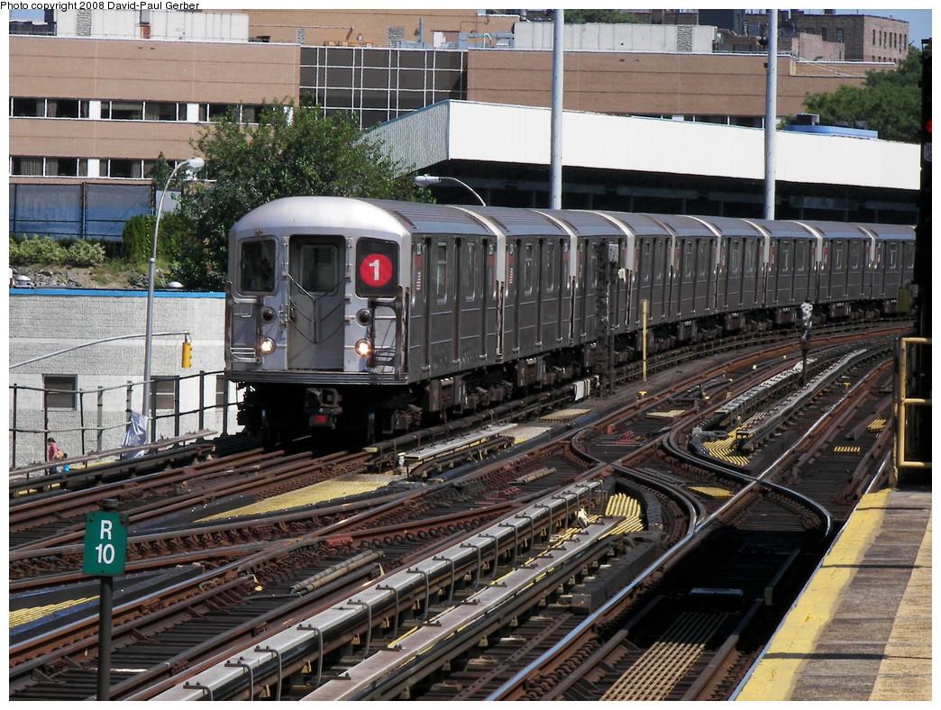 (351k, 1044x788)<br><b>Country:</b> United States<br><b>City:</b> New York<br><b>System:</b> New York City Transit<br><b>Line:</b> IRT West Side Line<br><b>Location:</b> 215th Street <br><b>Route:</b> 1<br><b>Car:</b> R-62A (Bombardier, 1984-1987)   <br><b>Photo by:</b> David-Paul Gerber<br><b>Date:</b> 8/21/2008<br><b>Viewed (this week/total):</b> 1 / 1721