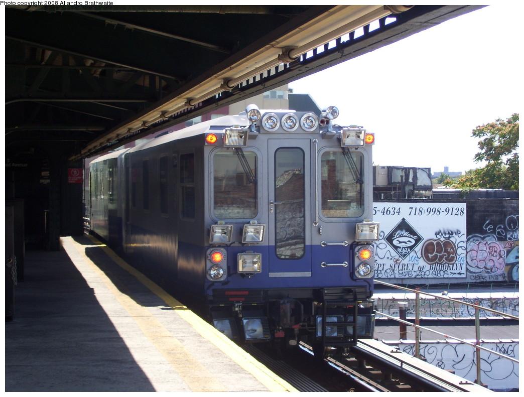 (227k, 1044x791)<br><b>Country:</b> United States<br><b>City:</b> New York<br><b>System:</b> New York City Transit<br><b>Line:</b> BMT Culver Line<br><b>Location:</b> Kings Highway <br><b>Route:</b> Work Service<br><b>Car:</b> Track Geometry Car TGC4 <br><b>Photo by:</b> Aliandro Brathwaite<br><b>Date:</b> 8/20/2008<br><b>Viewed (this week/total):</b> 4 / 1543
