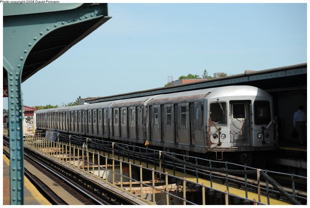 (238k, 1044x701)<br><b>Country:</b> United States<br><b>City:</b> New York<br><b>System:</b> New York City Transit<br><b>Line:</b> BMT Nassau Street/Jamaica Line<br><b>Location:</b> 75th Street/Elderts Lane <br><b>Route:</b> J<br><b>Car:</b> R-42 (St. Louis, 1969-1970)  4740 <br><b>Photo by:</b> David Pirmann<br><b>Date:</b> 8/27/2008<br><b>Viewed (this week/total):</b> 1 / 1468
