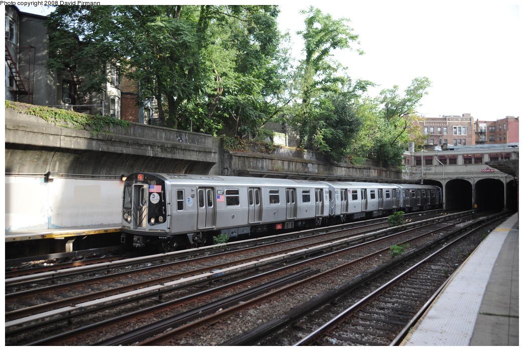 (329k, 1044x701)<br><b>Country:</b> United States<br><b>City:</b> New York<br><b>System:</b> New York City Transit<br><b>Line:</b> BMT Brighton Line<br><b>Location:</b> Parkside Avenue <br><b>Route:</b> Q<br><b>Car:</b> R-160B (Kawasaki, 2005-2008)  8937 <br><b>Photo by:</b> David Pirmann<br><b>Date:</b> 8/27/2008<br><b>Viewed (this week/total):</b> 6 / 2152