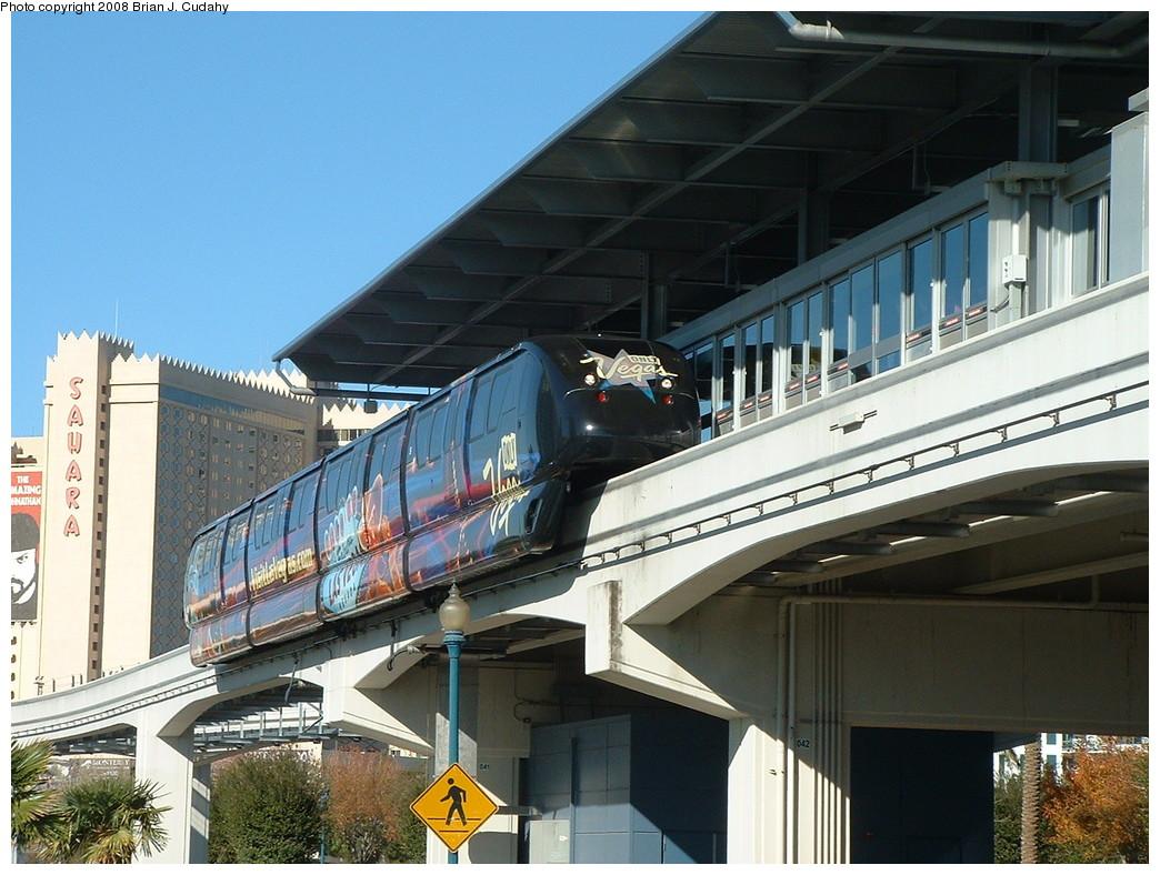 (239k, 1044x788)<br><b>Country:</b> United States<br><b>City:</b> Las Vegas, NV<br><b>System:</b> Las Vegas Monorail<br><b>Location:</b> Las Vegas Hilton <br><b>Photo by:</b> Brian J. Cudahy<br><b>Date:</b> 12/10/2007<br><b>Viewed (this week/total):</b> 0 / 1215
