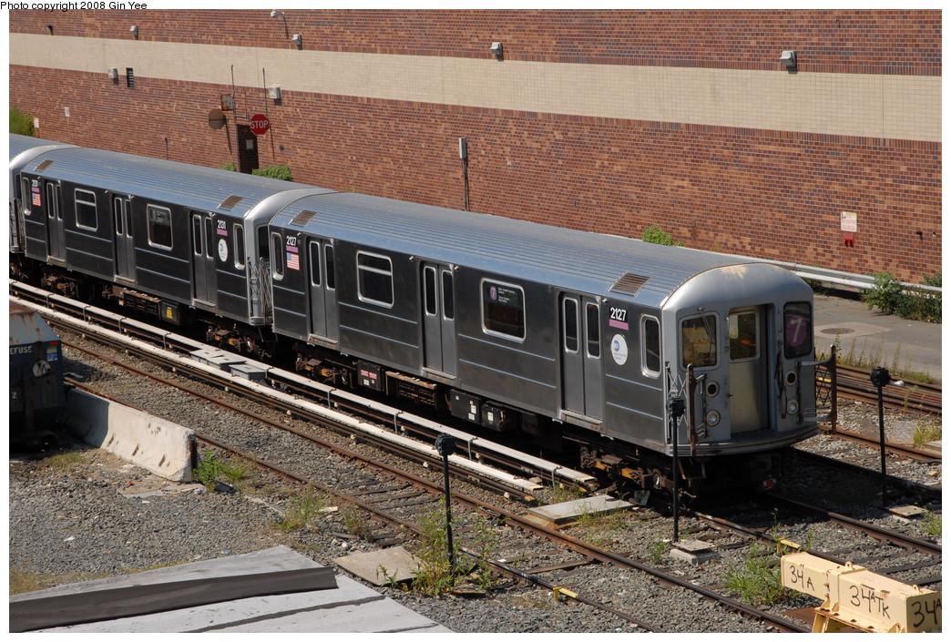 (319k, 1044x705)<br><b>Country:</b> United States<br><b>City:</b> New York<br><b>System:</b> New York City Transit<br><b>Location:</b> Corona Yard<br><b>Car:</b> R-62A (Bombardier, 1984-1987)  2131/2127 <br><b>Photo by:</b> Gin Yee<br><b>Date:</b> 9/2/2008<br><b>Viewed (this week/total):</b> 0 / 1444
