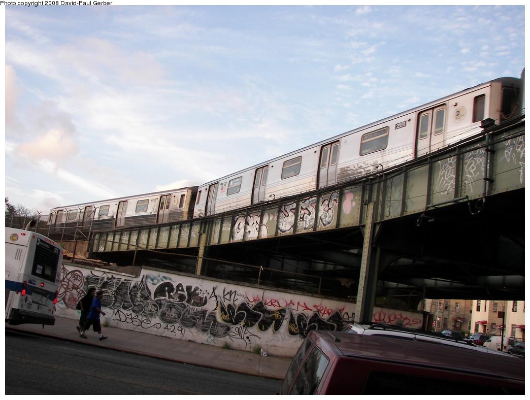 (251k, 1044x788)<br><b>Country:</b> United States<br><b>City:</b> New York<br><b>System:</b> New York City Transit<br><b>Line:</b> BMT West End Line<br><b>Location:</b> 9th Avenue <br><b>Route:</b> D<br><b>Car:</b> R-68 (Westinghouse-Amrail, 1986-1988)  2551 <br><b>Photo by:</b> David-Paul Gerber<br><b>Date:</b> 9/5/2008<br><b>Viewed (this week/total):</b> 0 / 2002