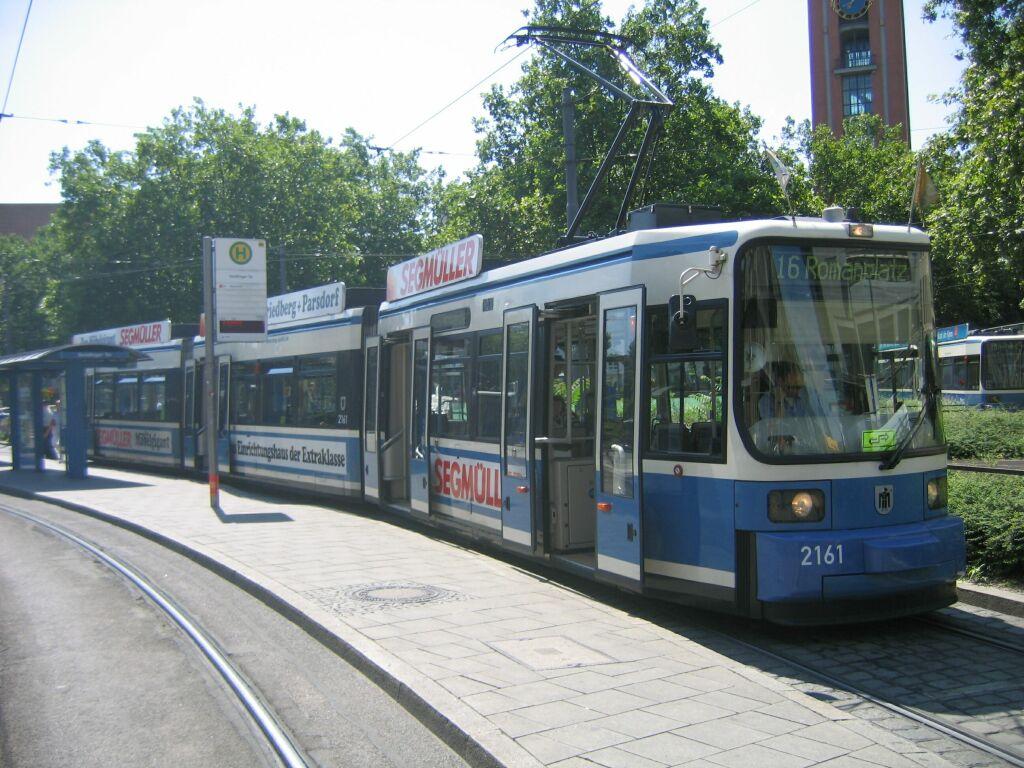 (152k, 1024x768)<br><b>Country:</b> Germany<br><b>City:</b> Munich<br><b>System:</b> MVG (Munchener Verkehrsgesellschaft)<br><b>Location:</b> Sendlinger Tor <br><b>Route:</b> 16<br><b>Car:</b> Siemens GT6N R2.2  2161 <br><b>Photo by:</b> Jos Straathof<br><b>Date:</b> 8/14/2008<br><b>Viewed (this week/total):</b> 0 / 488