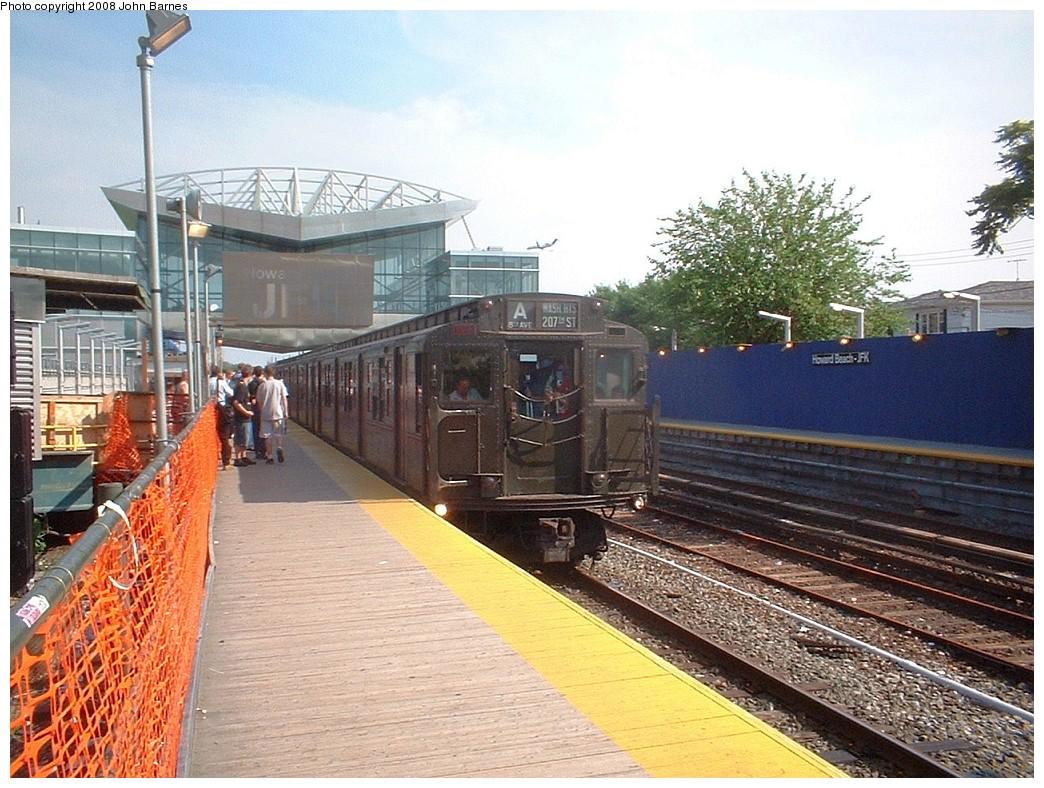 (257k, 1044x788)<br><b>Country:</b> United States<br><b>City:</b> New York<br><b>System:</b> New York City Transit<br><b>Line:</b> IND Rockaway<br><b>Location:</b> Howard Beach <br><b>Route:</b> Fan Trip<br><b>Car:</b> R-4 (American Car & Foundry, 1932-1933) 484 <br><b>Photo by:</b> John Barnes<br><b>Date:</b> 6/28/2003<br><b>Viewed (this week/total):</b> 1 / 1572