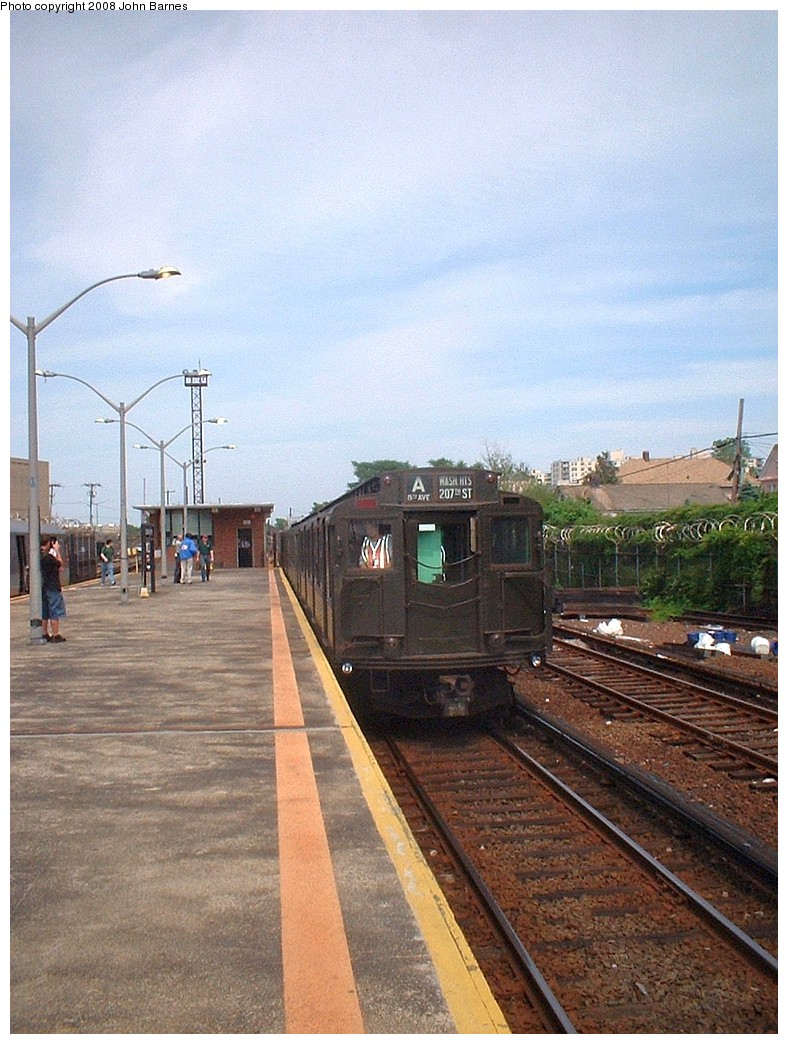 (237k, 788x1044)<br><b>Country:</b> United States<br><b>City:</b> New York<br><b>System:</b> New York City Transit<br><b>Line:</b> IND Rockaway<br><b>Location:</b> Rockaway Park/Beach 116th Street <br><b>Route:</b> Fan Trip<br><b>Car:</b> R-4 (American Car & Foundry, 1932-1933) 484 <br><b>Photo by:</b> John Barnes<br><b>Date:</b> 6/28/2003<br><b>Viewed (this week/total):</b> 0 / 1129